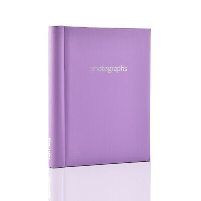 Purple Large Self Adhesive Photo Albums 20 Sheets 40 Sides For Gift -  SM40PE