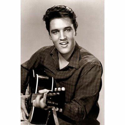 ELVIS PRESLEY - LOVE ME TENDER POSTER - 24x36 SHRINK WRAPPED - YOUNG MUSIC 2882
