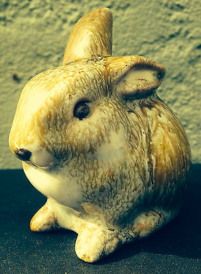 Vintage Austrian Art Pottery Rabbit