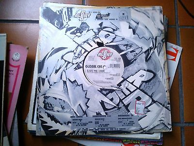 """12"""" Mix Maxi 45 Global Cee Give Me Love5 Red Alert Cover Vg Vinyl  Ex"""