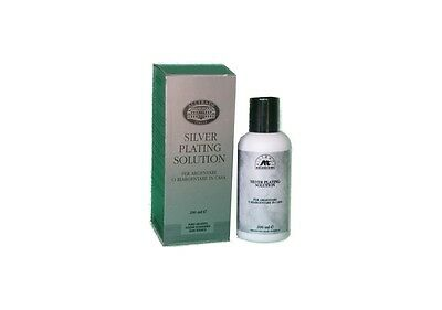 SILVER PLATING SOLUTION 200 ml. SS200