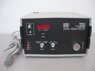 Waters Instruments MRM-2 Oxygen Consumption Monitor