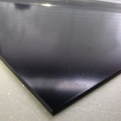 5mm Black Smooth ABS Sheet A3 420 x 297 Acrylonitrile Butadiene Styrene Sheet
