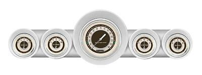 Classic Instruments 59-60 Chevy Impala El Camino Package w/ Nostalgia VT Gauges