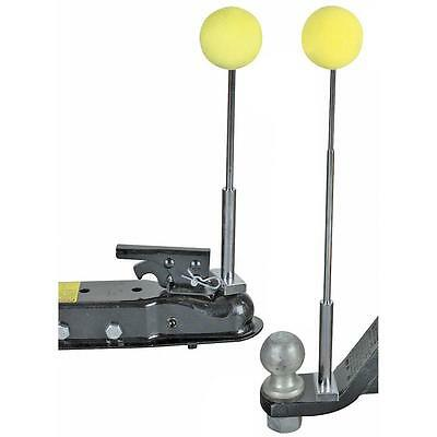 Magnetic Telescoping Trailer Hitch Alignment Kit  Balls RV Boat Utlity Trailer