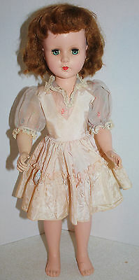 """Vintage 1950's American Character 20"""" Sweet Sue Walker Doll GUC in Orig Outfit"""