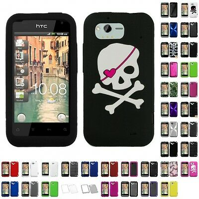 For HTC ADR6330 (Rhyme) Case Cover Accessories Hybrid Design