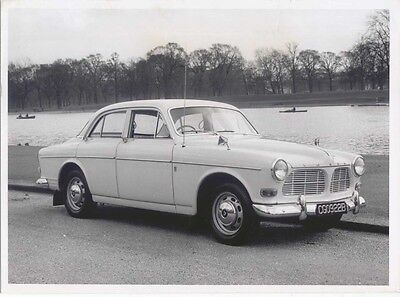 Volvo 122S  Press Photograph UK Issue 1966