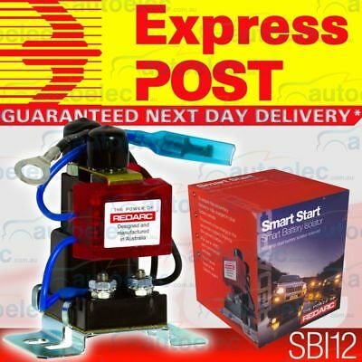 Express Post Redarc Sbi12 Dual Battery System Isolator Suit 4Wd Agm Deep Cycle