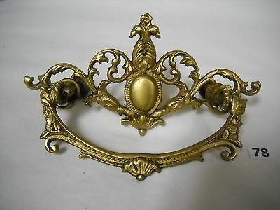 Antique Victorian Brass Drawer Pull