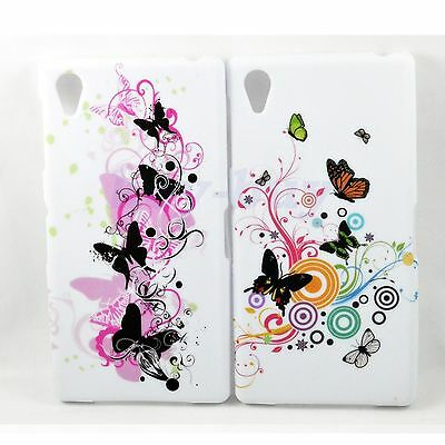 2pcs Silicone Soft TPU Protective Phone Back Cover Case For Sony Xperia Z1 L39h