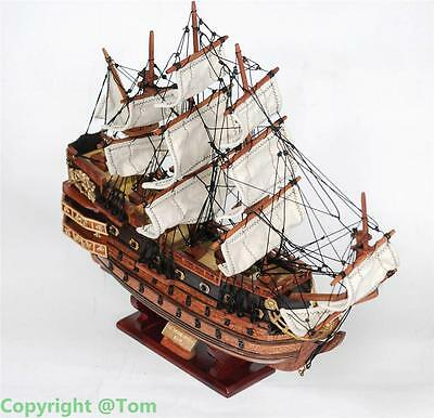 New 50cm LE SOLEI ROYAL 1669  Wooden Ship Model - High Quality Sailing Boat 20""