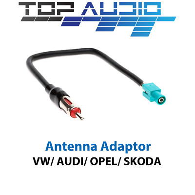 Mercedes and VW vehicles AD-VWD-B6P BMW Euro Antenna Adapter fits select Audi