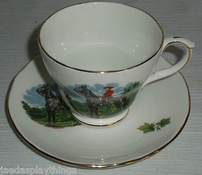 Duchess RCMP Cup & Saucer Set Bone China England Royal Canadian Mounted Police