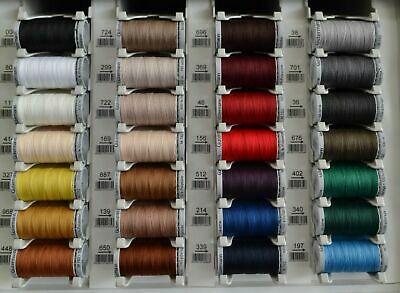 Gutermann Extra Thread Heavy Upholstery Jeans Canvas Leather Luggage 100m x 10