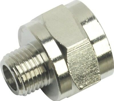 "Sealey Adaptor 1/4""BSPT Male to 1/2""BSP Female"
