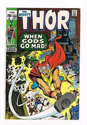 Thor # 180  When Gods Go Mad ! Neal Adams - grade 7.5 - movie scarce hot book !!