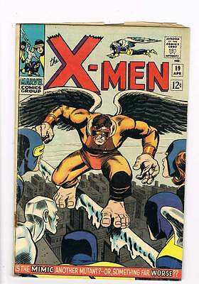 X-Men # 19  Now Shall Appear...the Mimic ! grade 3.5  scarce hot book !!