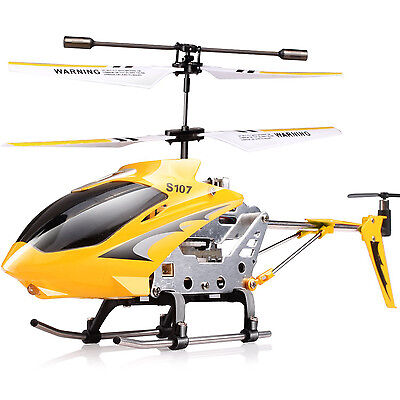 Genuine SYMA S107G 3CH GYRO 3.5Channel Mini Remote Control RC Helicopter Quality