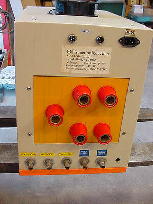 Superior Induction Heater Controler Mod SI-40KW HF 460 V Frequency 100-350KHz