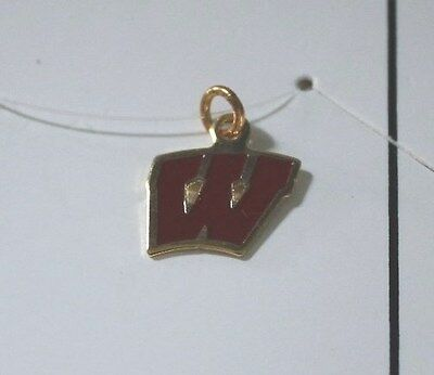 Wisconsin Necklace - Charm - 1/2""