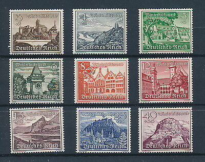 [88209] Germany 1939 Good set of Very Fine MH stamps
