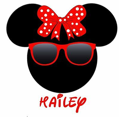 6dd2bcaa70ab9 DISNEY MINNIE MOUSE Sunglasses ::::::2019 :::::::fabric/t-Shirt Iron ...