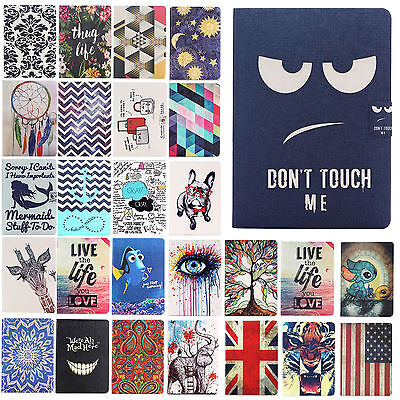 Cute Flip Leather Stand Case Cover For iPad Mini 1 2 3/ iPad Air /Air 2 + Stylus