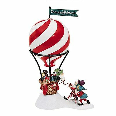 Dept 56 / North Pole Accessory / Dash Away Delivery - Hot Air Balloon - NEW!