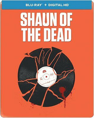 Shaun of the Dead (Blu-ray Disc, 2014, Limited Edition; Steelbook)