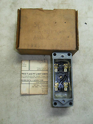 (N3-1) 1 USED SQUARE D 9007-AW-46 POSITION SWITCH BASE ONLY
