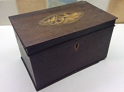 Late 18th Century Early 19th Century Georgian Tea Caddy in a Original Condition.