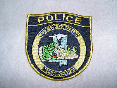 POLICE CITY OF GAUTIER MISSISSIPPI
