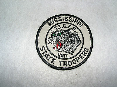 MISSISSIPPI STATE TROOPERS (T.I.G.E.R. UNIT)