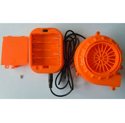 Mini Fan Blower AA Battery Blower Plastic Blower For Inflatable Toy Small BLower