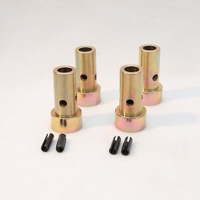 Quick Hitch Adapter Bushings Category 2, 2 Pair Cat 2 II Tooltuff, Farm Ranch