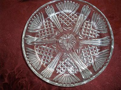 Selecta Antipastaiera Glass Dish Covetro Fine Italian Glassware No.2.