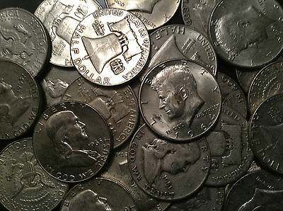 THE HALVES DEAL! All 90% Lot Old US Junk Silver Coin 1/2 Pound LB 8 OZ. Pre 65!!