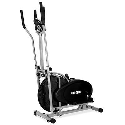 ELITE FITNESS CROSS TRAINER w. BUILT IN HEART RATE MONITORING *FREE P&P OFFER