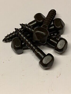 Wood Screws Pyramid Square Head Steel Black Oxide #14x1-1/4 PS14114