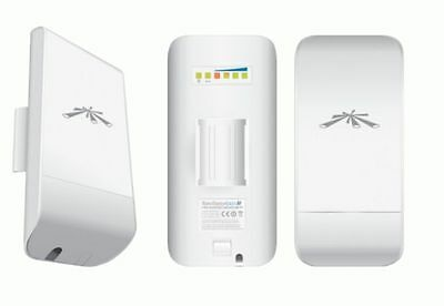 Ubiquiti NanoStation LOCO M5 Nano Station 5Ghz Point-Bridge POE Outdoor LocoM5