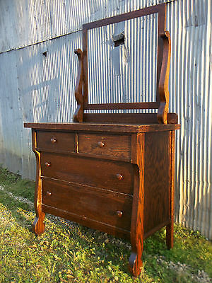 19th Century Oak Dresser  Rescued from Old Hotel that was built in 1875  AnTiQuE