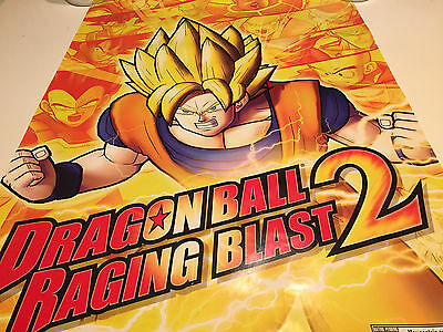 POSTER Dragon Ball Raging Blast 2 (Game NOT Included) PS3 & Xbox 360 Promo Item