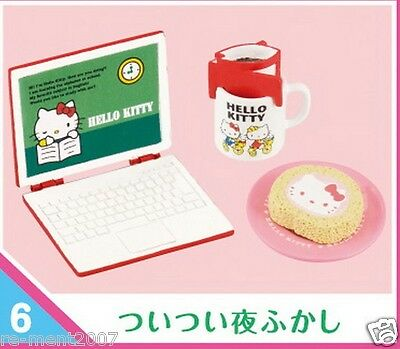 New Arrival Re-ment Sanrio Hello Kitty miniature Office Ladies OL Life rement @6