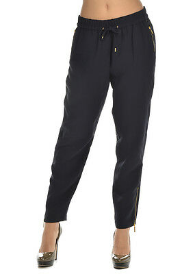 MICHAEL KORS New Woman NAVY Trouser Casual Pants Sz 8 US $314 NWT SALES OFFERS