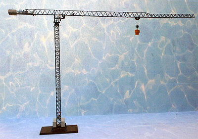 Ros - Comansa Stationary Tower Crane- High Detail Diecast. In 1:87th Scale