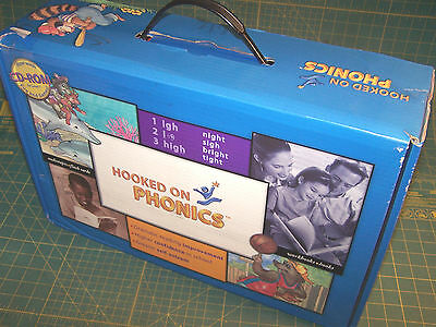 NEW HOOKED ON PHONICS Complete Unopened  Levels 1 - 5  Learn to Read with Books