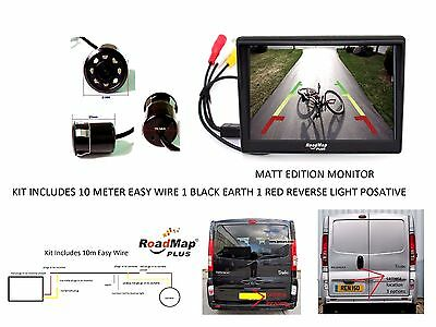 Vivaro  Rear Reversing camera Kit 029