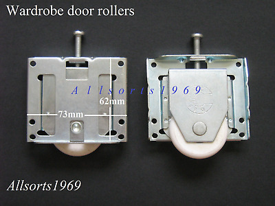Sliding wardrobe door rollers wheels stegbar regency * 1 Pair *