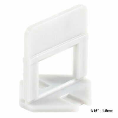 """Raimondi Tile Spacer Leveling System - 1/16"""" (1.5mm) Spacers selection"""